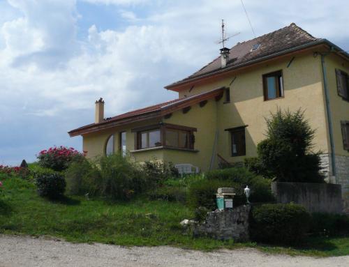 Extension maison en pisé