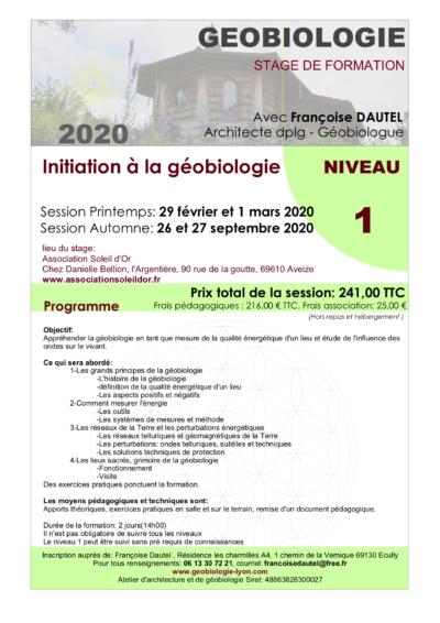STAGE 2020-NIV1-DAUTEL