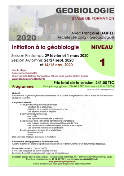 formation geobiologie niv1 2020 - copie