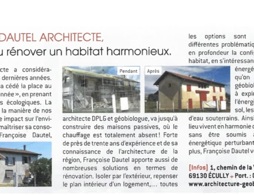 Architecte et géobiologue pour la conception d'un habitat harmonieux